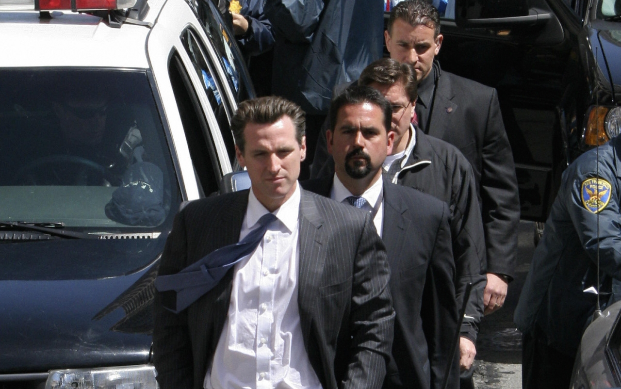 gavin newsom security detail